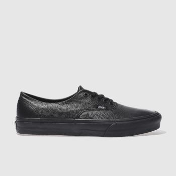 Vans Black Authentic X Womens Trainers#