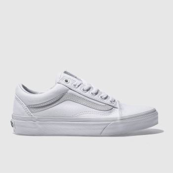Vans White Old Skool Womens Trainers