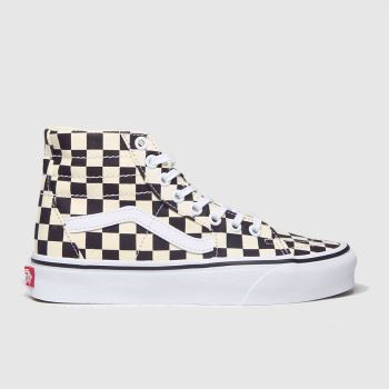 Vans Black & White Sk8-hi Tapered Womens Trainers