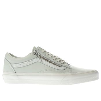 Vans Green Old Skool Zip Womens Trainers