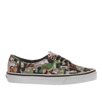 Vans Multi Authentic Toy Story Womens Trainers