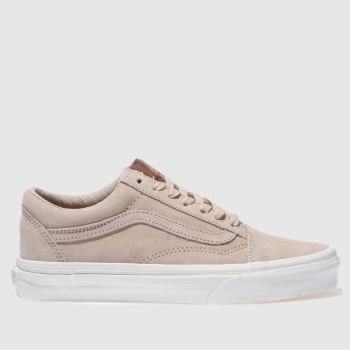 beige vans junior