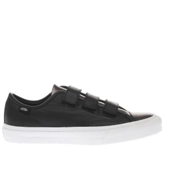 Vans Black Prison Issue Womens Trainers