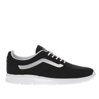 VANS BLACK & WHITE ISO 1-5 TRAINERS