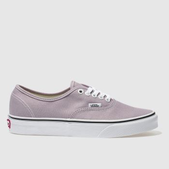 VANS LILAC AUTHENTIC TRAINERS