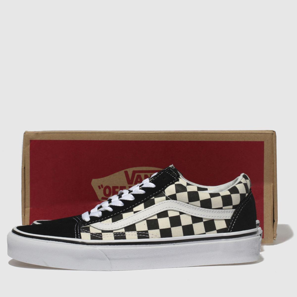 Damen Schwarz-weiß vans Old Skool Primary Check Qualität Sneaker   schuh Gute Qualität Check beliebte Schuhe fcdd1b