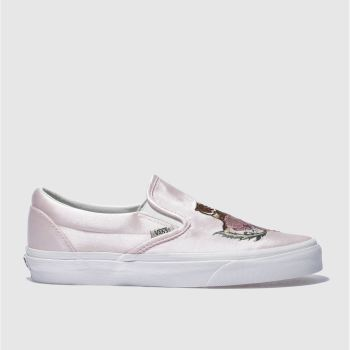 Vans Pale Pink Slip California Souvenir Womens Trainers