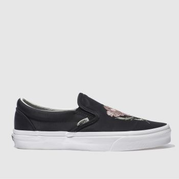 Vans Black & White Slip California Souvenir Womens Trainers