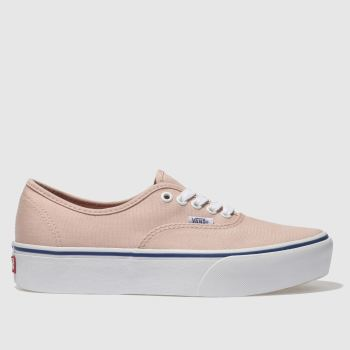 Vans Pink Authentic Platform 2.0 Womens Trainers