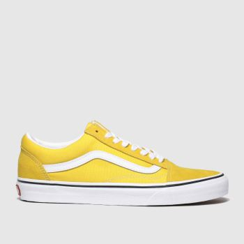 Vans Yellow Old Skool Womens Trainers