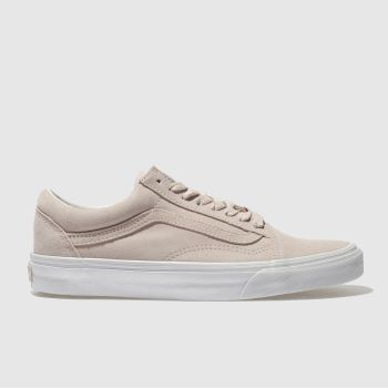 Vans Pale Pink OLD SKOOL Trainers