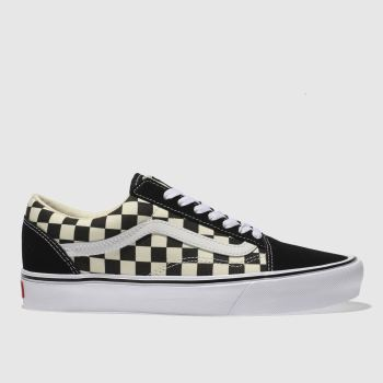 Vans White & Black OLD SKOOL LITE Trainers