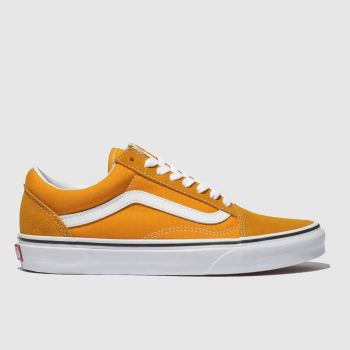 Vans Orange Old Skool Womens Trainers