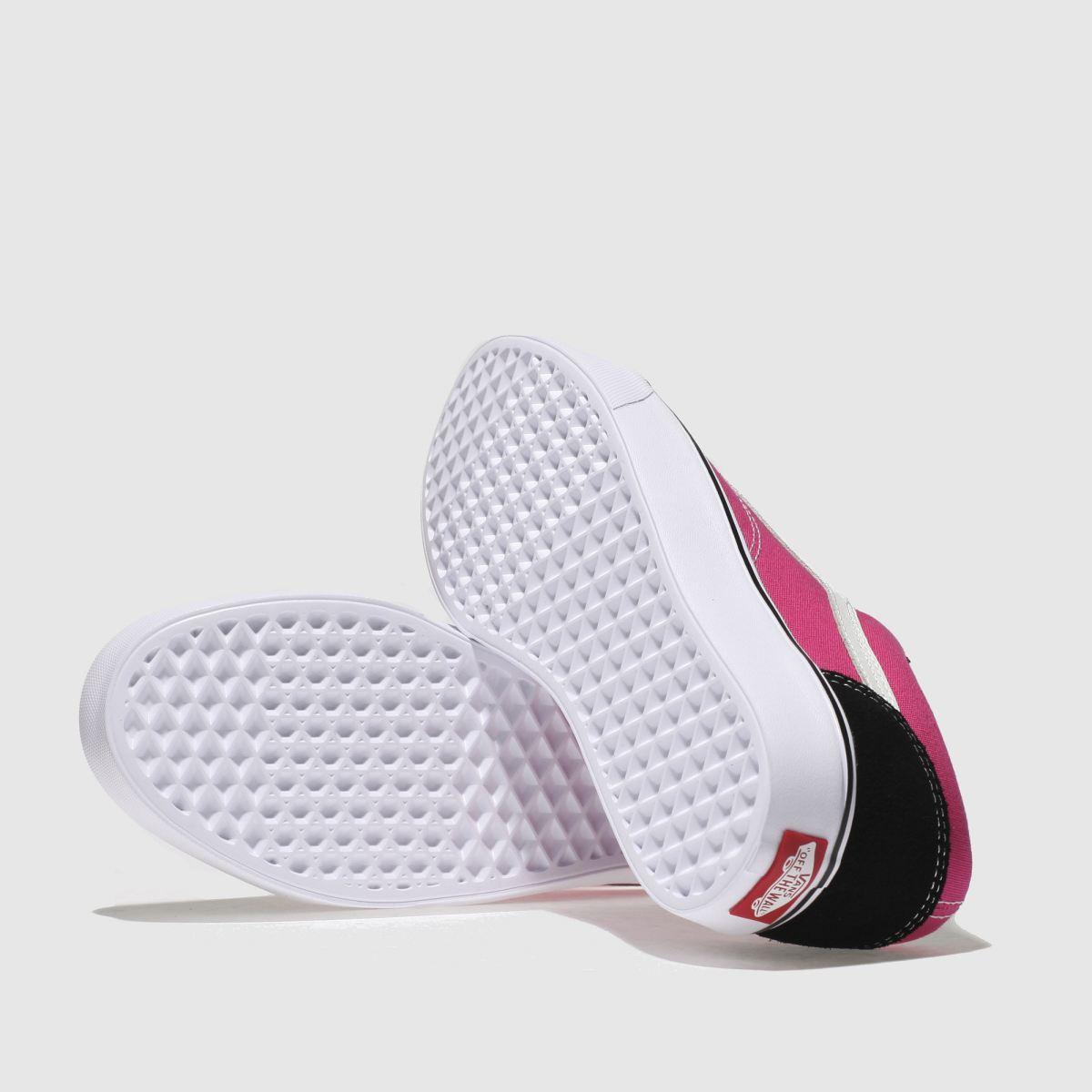 Damen Schwarz-pink vans Old Skool Lite Sneaker | Schuhe schuh Gute Qualität beliebte Schuhe | ea738f