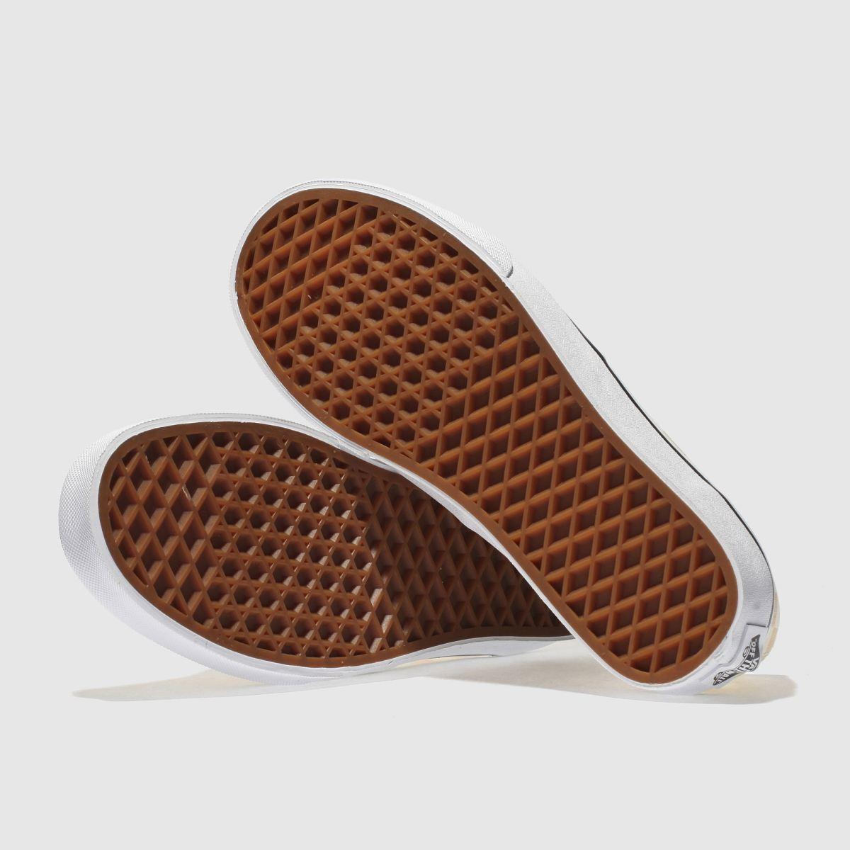 Damen Cremeweiß-pfirsich vans Authentic Gute Checkerboard Sneaker | schuh Gute Authentic Qualität beliebte Schuhe 5f3e2f