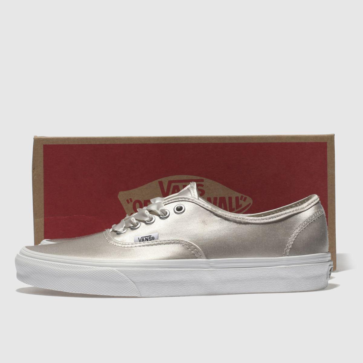 Damen Silber vans Authentic schuh Satin Lux Sneaker | schuh Authentic Gute Qualität beliebte Schuhe 7f3a90