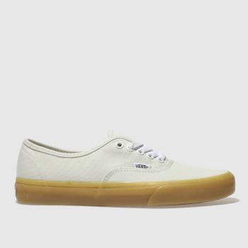 Vans Green Authentic Gum Sole Womens Trainers