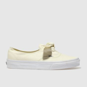 Vans Stone Authentic Knotted Canvas Womens Trainers