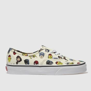 Vans Multi Authentic Marvel Avengers Womens Trainers