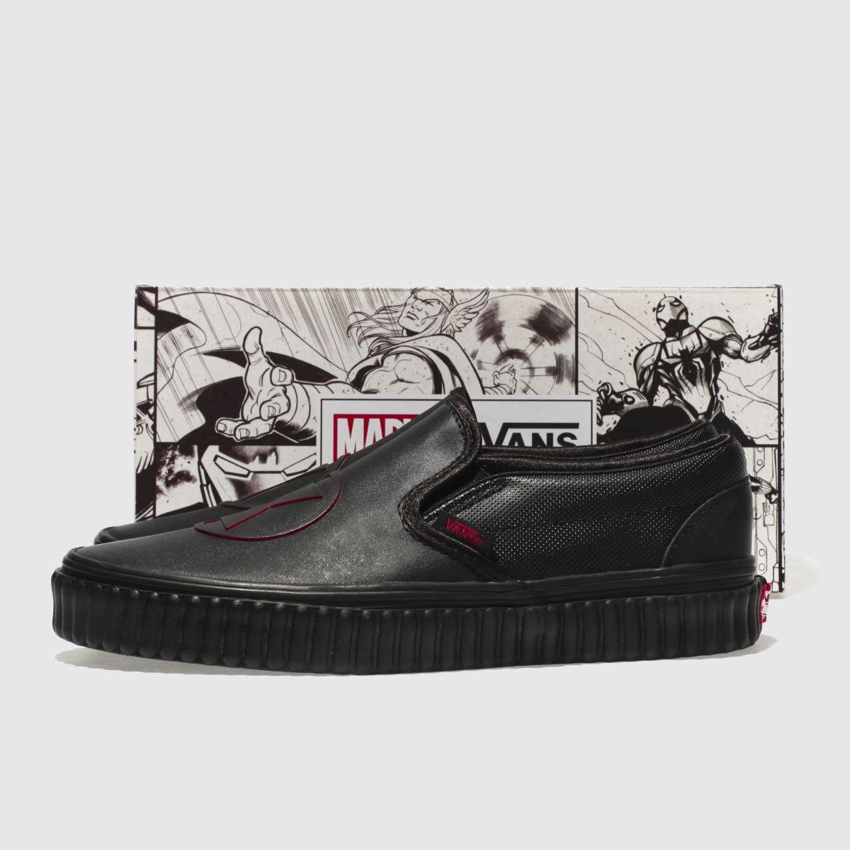 Damen Schwarz vans Slip-on Marvel schuh Black Widow Sneaker | schuh Marvel Gute Qualität beliebte Schuhe bbb4b2