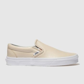 Vans Natural Classic Slip-On Womens Trainers