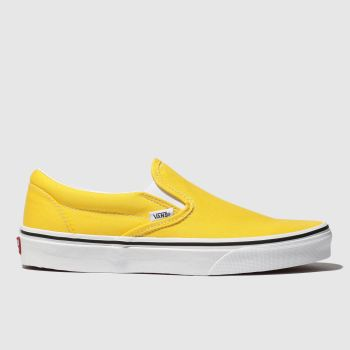 Vans Yellow Classic Slip-on Womens Trainers