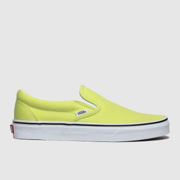 Vans Lime Classic Slip-On Womens Trainers