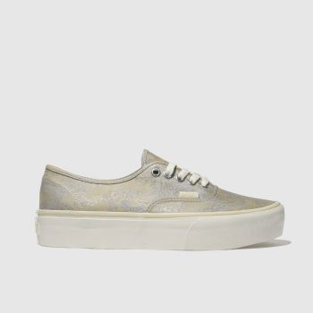 Vans Natural Authentic Satin Paisley Womens Trainers