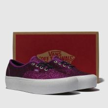 Vans authentic glitter platform 1