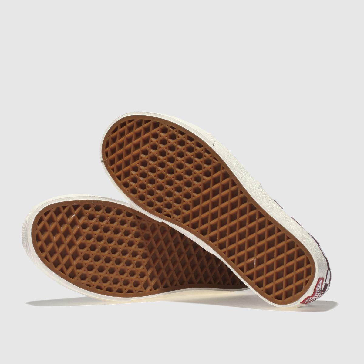 Damen Weiß-weinrot vans Qualität Authentic Sneaker   schuh Gute Qualität vans beliebte Schuhe 863a9b