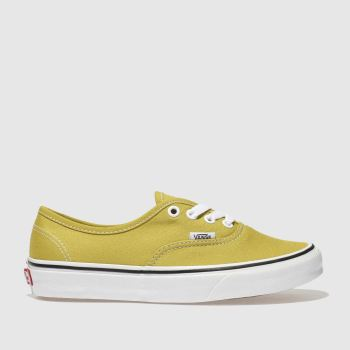 Vans Lime Authentic Womens Trainers