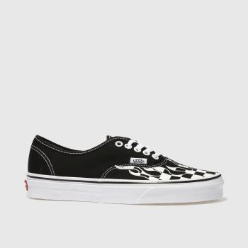 Vans Black & White Authentic Womens Trainers