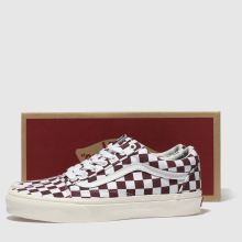 vans old skool damen burgundy