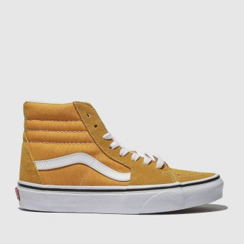 Vans Orange Sk8-Hi Womens Trainers