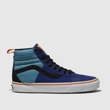Vans Blue Sk8-Hi 46 Mte Dx Womens Trainers
