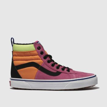 Vans Pink & Orange Sk8-Hi 46 Mte Dx Womens Trainers