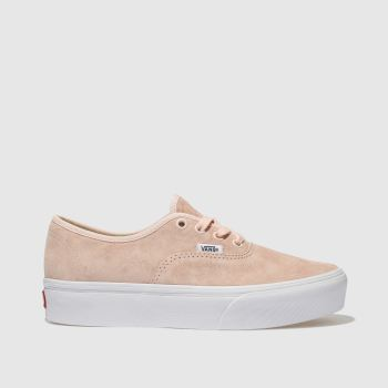 Vans Pale Pink AUTHENTIC PLATFORM 2.0 Trainers