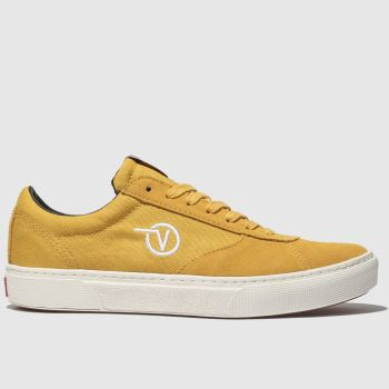 Vans Yellow Paradoxxx Womens Trainers