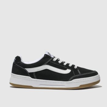 3a714a676a Vans Black   White Highland Womens Trainers
