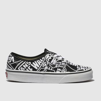 Vans Black & White Authentic Otw Womens Trainers