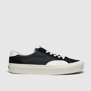 Straye Black & White Logan Womens Trainers
