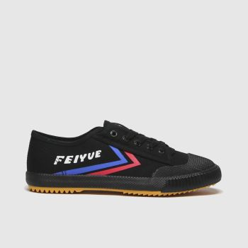 Feiyue Black Fe Lo 1920 Womens Trainers#