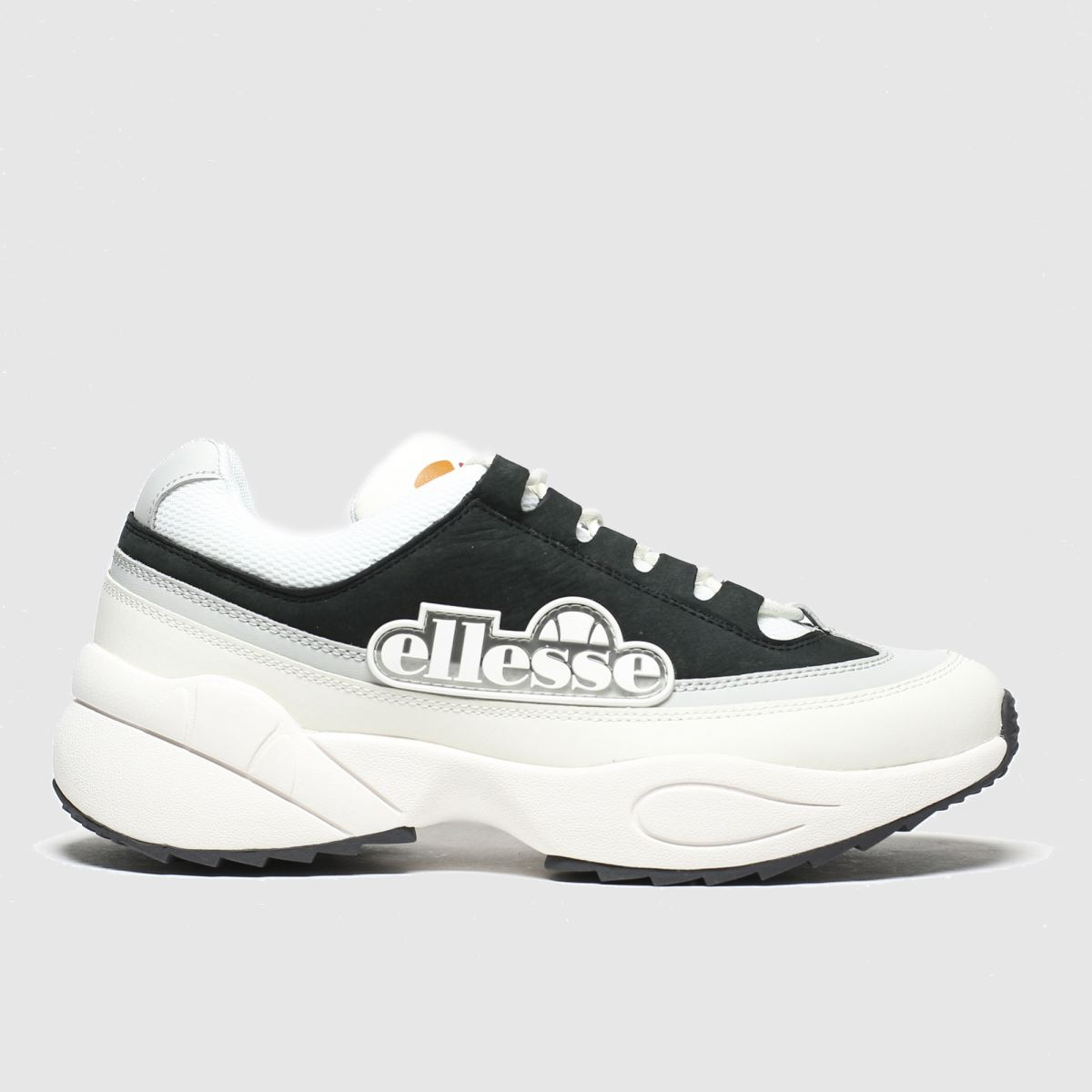 Ellesse White & Grey Sparta Trainers