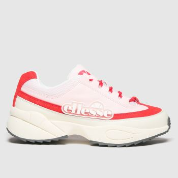 ellesse Pale Pink Sparta Trainers