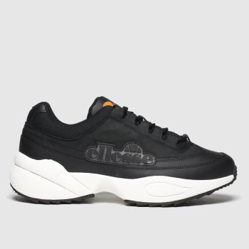 Ellesse Black & White Sparta c2namevalue::Womens Trainers