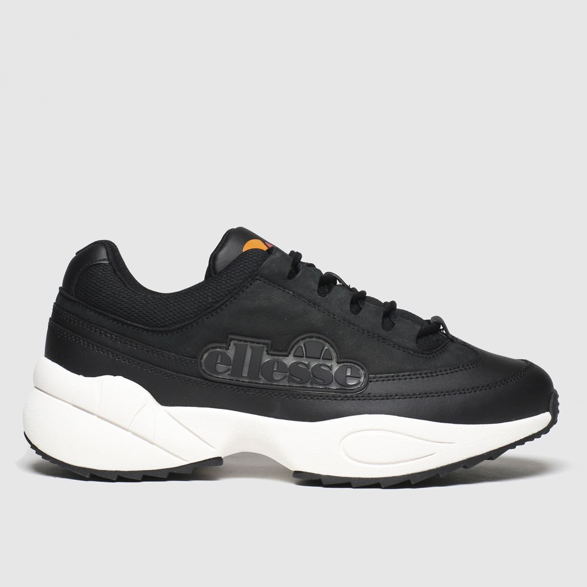 Ellesse Black & White Sparta Trainers