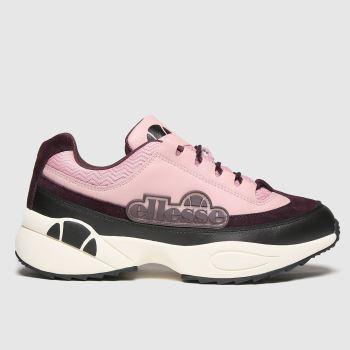 ellesse Black & pink Sparta Womens Trainers