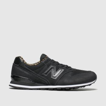 New Balance Black 996 Womens Trainers