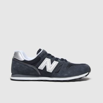 New Balance Navy & Silver 373 V2 Womens Trainers