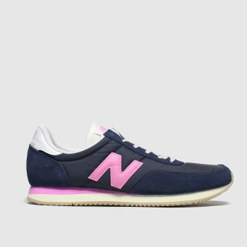 New Balance Navy 720 V1 Trainers